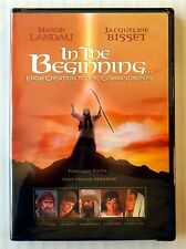 In The Beginning ~ New Sealed DVD ~ Rare OOP Christian Religious Movie Bible