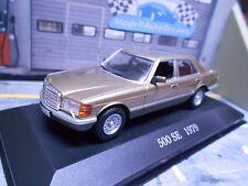 Mercedes Benz 500se 500 S Classe w126 Gold Met Limousine 1979 IXO ALTAYA SP 1:43