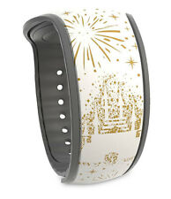 """Disney Parks Cinderella Castle """"Where Dreams Come True� MagicBand 2 New Unlinked"""