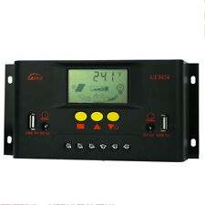 1PC PWM battery Solar Charge Controller 12V/24V AUTO With LCD Display 30A 5V USB