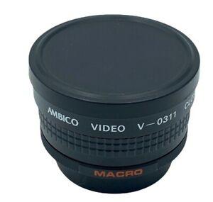 Ambico V-0311 Close Up Wide View Macro for Prime Digital Video Camera Lens