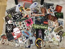 Supreme MYSTERY Sticker Pack!! 5 Supreme Stickers + 3 FREE BOX LOGO STICKERS!!