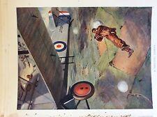 m17a ephemera 1920s book plate r a f officer parachute jumper testing