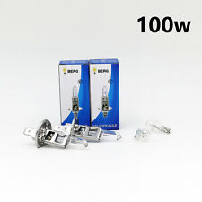 H1 100w BRIGHT CLEAR HALOGEN Head light Bulbs Dipped Main Beam + T10 W5W 501 W