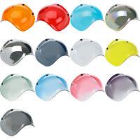Biltwell Bubble Shield for Bonanza Motorcycle Helmets 3/4 Open Face