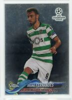 2018 Bruno Fernandes Topps Chrome UEFA Champions League Rookie Rc