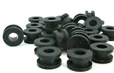 """1/2"""" Rubber Grommets. 3/8"""" ID X 11/16"""" OD, Fits 1/2"""" Hole & 1/4"""" Thick Materials"""