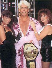 RIC FLAIR NANCY BENOIT MISS ELIZABETH 8X10 PHOTO WRESTLING PICTURE WWF WCW WWE