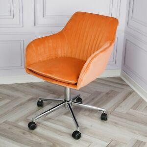 Genesis Apollo Scallop Velvet Computer Home Office Salon Swivel Accent Chair