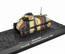 Somua S35 Tank 1ère Division Légère Mécanisée DLM Saint-Ouen 1940 Altaya 1/72