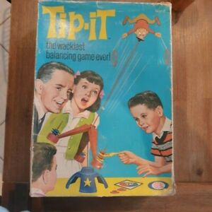 Vintage Tip-It game by Ideal