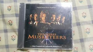 The Three Muskeeters - OST - Bryan Adams, Rod Stewart, Sting - Made in USA
