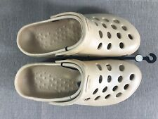 BNWT Mens Sz EURO 40 US 7 Rivers Doghouse Brand Beige Clog Sandals Shoes
