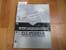 2000 HONDA Harley-Davidson FLT Parts Catalog Book Manual