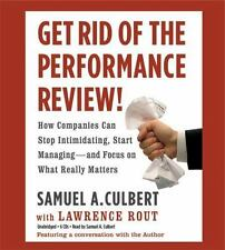 (New CD) Get Rid of the Performance Review! How Companies Can Stop Intimidating