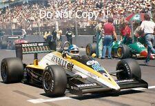 Derek Warwick Renault RE60B Australian Grand Prix 1985 Photograph 1