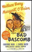 BAD BASCOMB Movie POSTER 27x40