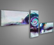 Quadri moderni astratti 180 x 70 stampe su tela canvas con telaio MIX-S_82
