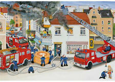 Ravensburger Busy Fire Brigade 2 x 24 Piece Jigsaw Puzzles RB08851-5