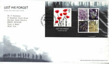 Elizabeth II (1952-Now) Military, War British First Day Covers