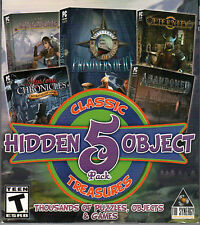 PRISONERS OF ICE + ETERNITY + ABANDONED Hidden Object 5 PACK PC Game NEW