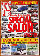 AUTO PLUS du 14/9/2010; Spécial Salon Mondial de l'Automobile/ Citroën C-Zéro