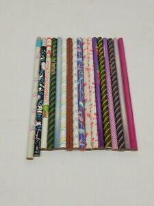 Vintage Japanese Pencil Set 17 Pencils Mixed Brands SANRIO & MORE New Old Stock