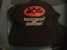 Batman and Robin baseball hat