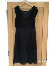 Hobbs Black Party Dress Size 12 1920s Style