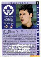 1993-94 Score Promos Samples #5 Felix Potvin