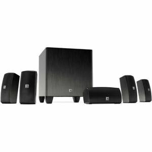 JBL Cinema 610 5.1-Channel Home Theater Speaker System