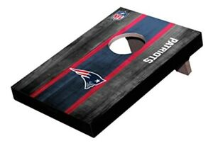New England Patriots Table Toss Game Board With 8 Mini Bean Bags Dorms Offices