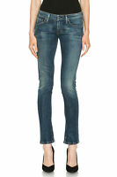 CITIZENS OF HUMANITY Racer Low Rise Skinny Denim Jeans Slash Blue $228 100