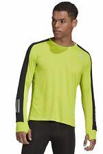 Adidas Hombre Lauf-Langarm-Shirt Propia The Correr Manga Larga Té M Verde Sw