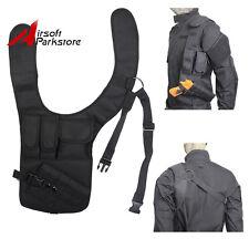 Tactical Hidden Underarm Shoulder Bag Pistol Gun Armpit Holster Pouch Rig Black