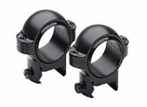Burris Optics Signature Zee Weaver Style Ring - Matte Black