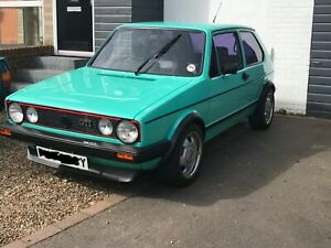 VW Mk1 Golf GTI 1.8 DX 1983 Tin Top, VGC, MOT to March 2022, MAY PART EXCHANGE