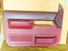 1988-91 Chevy Silverado C1500 GMC Red DOOR PANEL GM 15607017 NEW OEM!