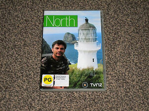 NORTH : By MARCS LUSH - TV SERIES EXPLORING NEW ZEALAND DVD IN VGC (FREE UK P&P)