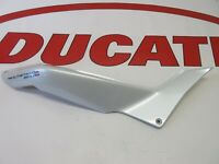 Ducati rh right hand frame seat cover Multistrada 1200S 48211621AW White