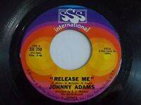 Johnny Adams Release Me / You Make A New Man Out Of Me 45 1968 Vinyl Record