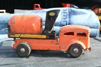 Lincoln Toy Construction Co Cement Mixer Delivery Truck - Canada pressed steel