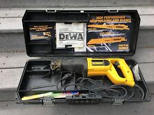 DeWalt Reciprocating Saw with case DW303