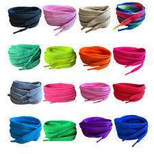 Flat Coloured Football Boot laces, Shoelaces Mens, Ladies Kids,Trainers,Shoes!