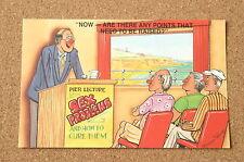 Vintage Postcard: Bamforth 2043, Sex Problems, Lecture, Comic, Brian Parry
