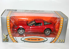 Road Signature - 2007 CHEVROLET Z06 (Red) - Scale 1:24