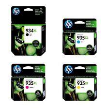4x Genuine HP934XL+HP935XL C,M,Y ink Cartridges for Officejet Pro 6230,6830,6820