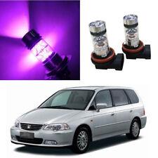 2Pcs Purple High Power 100W LED Fog Light Bulbs For Honda Odyssey 2005-2018