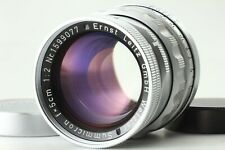 RARE[Yr,1958] Leica Leitz Summicron 50mm 5cm f/2 Rigid silver L39 LTM From JAPAN