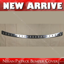 Rear Bumper Cover Stainless Steel For Nissan Patrol 12-15